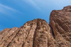 The cliff of Gorges du Dades valley, Morocco - stock photo
