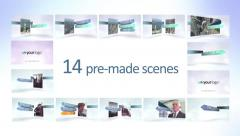 Multi Scene Ribbons - Apple Motion 5 and Final Cut Pro X Template Stock After Effects
