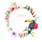 Wedding frame - stock illustration