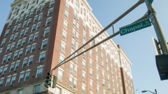 New Haven Chapel Street & Taft Apartments Stock Footage