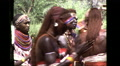 African Maasai Tribe Jumping Dance Vintage Film Retro Film Home Movie 8359 HD Footage