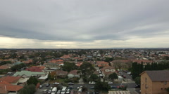 Suburban Rooftop 01 Stock Footage