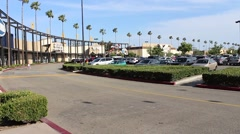 California Shopping Plaza Stock Footage