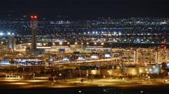 Las Vegas McCarran Airport Stock Footage