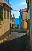 Urban landscape, Funchal, Madeira, Portugal - stock photo