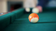 Pool game HD Stock Footage