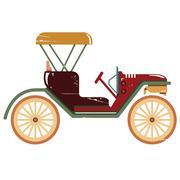 Classic car Stock Illustration