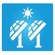 Solar panels Piirros