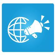 marketing and communication - stock illustration