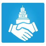 Joint venture Stock Illustration