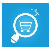 E commerce analysis Stock Illustration
