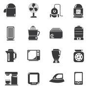 home appliance - stock illustration