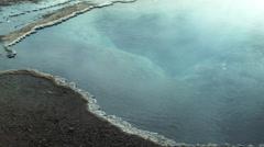 Steaming Pool in Geysir, ICELAND Stock Footage