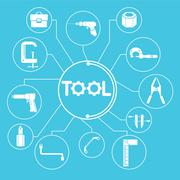 Tools Stock Illustration