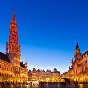 Grote Markt, Brussels, Belgium, Europe. - stock photo