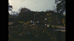 Vintage 16mm film, 1960, Panamá Viejo ruins #3 Stock Footage