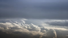 Cumulus clouds formation Stock Footage