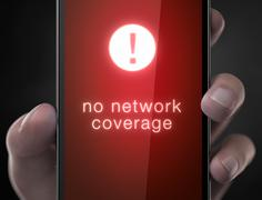 No network coverage Stock Illustration
