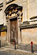 Italy  lombardy     in  the santo antonino    church  closed br Stock Photos