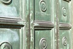 busto  closed wood italy  lombardy - stock photo