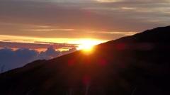 Piton De La Fournaise, Ile De La Reunion Stock Footage