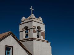 Church of Sao Pedro de Atacama Stock Photos