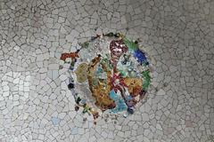 Ceramic Mosaic Pattern Stock Photos