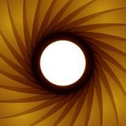 vector aperture - focus - stock illustration