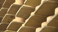 SWITZERLAND swiss cheese storage 8 Stock Footage