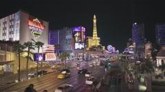 Las Vegas City Hyperlapse - Motion Timelapse Stock Footage