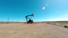Oil Well Rig Pump Series II 4K - stock footage