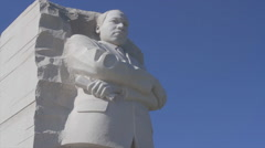 MLK Memorial 1 | Reverend Martin Luther King Jr. Stock Footage