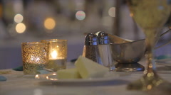Elegant Dining | Special Events Stock Footage