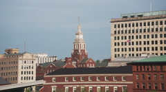 Providence Old Skyline Stock Footage