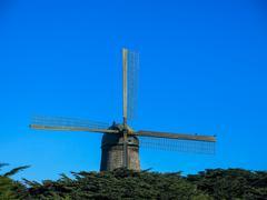 Mill at Golden Gate Park Kuvituskuvat