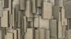 Sand blocks. Stock Footage