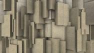 Stock Video Footage of Sand blocks.