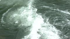 River Current Slow Motion Stock Footage