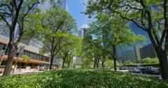 Downtown Pittsburgh Golden Triangle Establishing Shot Stock Footage