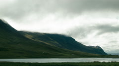 A Western Fjord ICELAND Stock Footage