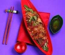 Beef salad vietnam Stock Photos