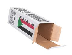 Stock Photo of Concept of export - Product of Sudan