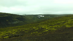 Landscape of the Western Fjords of ICELAND Stock Footage