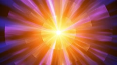 4K Animation Abstract motion background, shine, fire, abstarct particles,  loop. Stock Footage