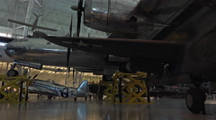Washington DC Air and Space Enola Gay bomber 4K 004 Stock Footage