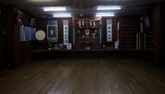 Hombu Dojo Kyokushin Karate. Tokyo. Japan Stock Footage