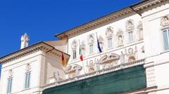Villa Borghese, Rome, Italy Stock Footage