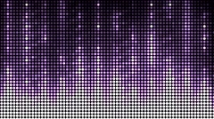 Abstract violet equalizer. Stock Footage