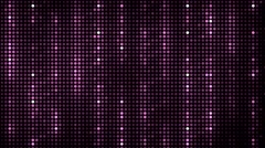Abstract pink equalizer. Stock Footage