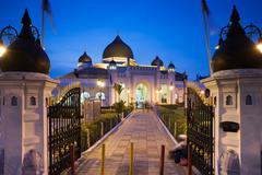 The view of Kapitan Keling Mosque, Georgetown, Penang, Malaysia - stock photo